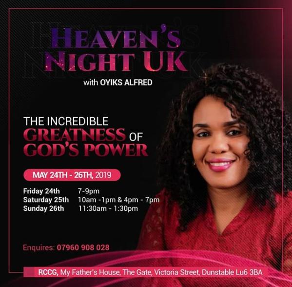 Heaven's Night UK — My Secret Place